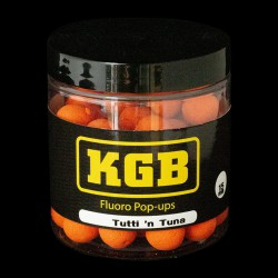 KGB Baits Pop-ups Tutti 'n Tuna Orange 15mm