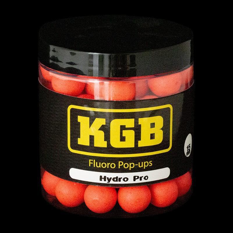 KGB Baits Pop-ups Hydro Pro Red 15 mm