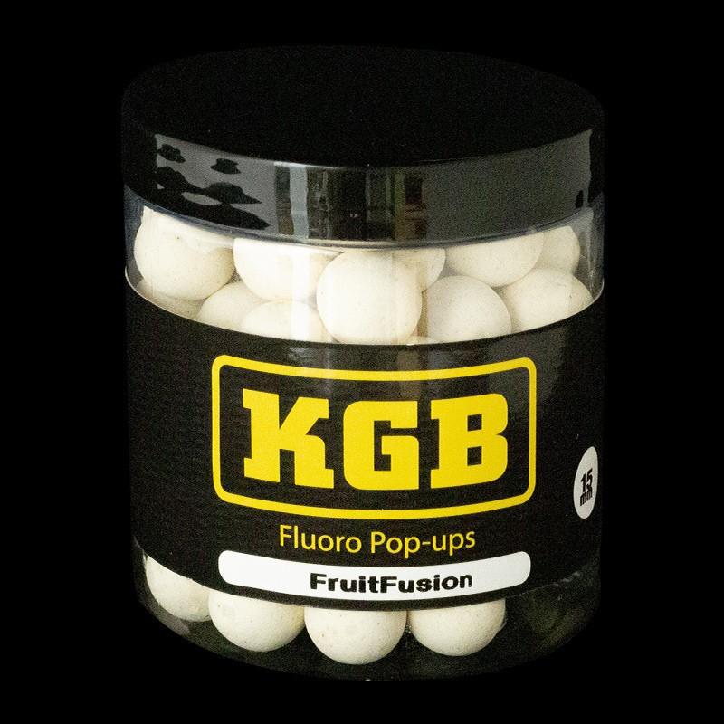 KGB Baits Pop-ups Fruit Fusion White 15mm