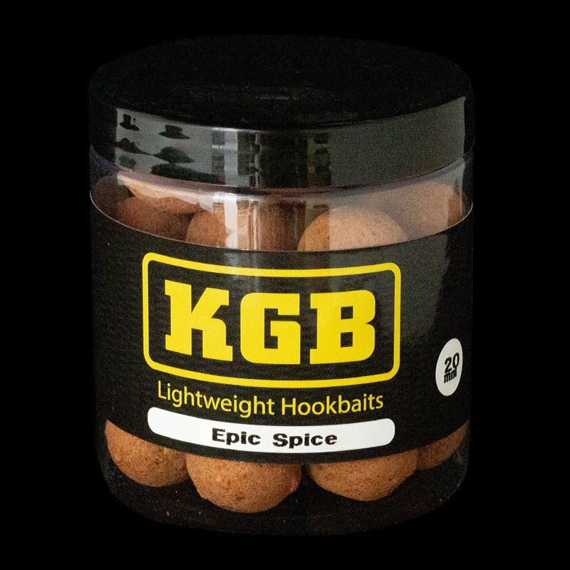 KGB baits Lightweight Hookbaits Epic Spice 20mm