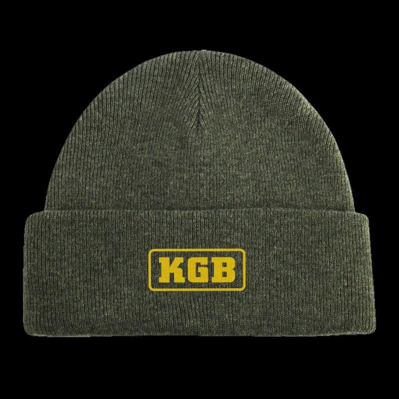 KGB Baits Muts Leger groen met logo